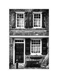 Philippe Hugonnard - Elfreth Trinity Houses, Elfreth's Alley, Philadelphia, Pennsylvania, US, White Frame Fotografická reprodukce