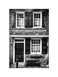 Elfreth Trinity Houses, Elfreth's Alley, Philadelphia, Pennsylvania, US, White Frame Photographic Print by Philippe Hugonnard