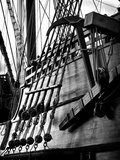 Ropes and Anchor El Galeon, Authentic Replica of 17th Century Spanish Galleon at Pier 84, New York Photographic Print by Philippe Hugonnard