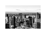 Landscape, Hell's Kitchen District and Hudson River, Manhattan, NYC, White Frame Photographic Print by Philippe Hugonnard