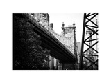 Ed Koch Queensboro Bridge (Queensbridge) View, Manhattan, New York, White Frame Photographic Print by Philippe Hugonnard