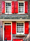Elfreth Trinity Houses, Elfreth's Alley, Philadelphia, Pennsylvania, United States Photographic Print by Philippe Hugonnard