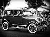 Historic Vehicule, Black and White Photography, Vintage, Arizona, United States, USA Photographic Print by Philippe Hugonnard