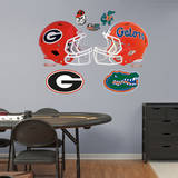 Georgia - Florida Rivalry Pack Wall Decal Wall Decal