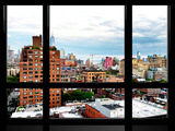 Window View, Landscape Buildings of Chelsea with One World Trade Center View, Manhattan, New York Photographic Print by Philippe Hugonnard