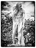Statue, Garden of the Tuileries, the Louvre, Paris, France Photographic Print by Philippe Hugonnard