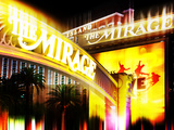 Urban Stretch Series, Fine Art, the Mirage, Casino, Las Vegas, Nevada, United States Photographic Print by Philippe Hugonnard