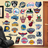 NBA Logo Collection Wall Decal Wall Decal
