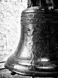 The Liberty Bell, Philadelphia, Pennsylvania, United States, Black and White Photography Reproduction photographique par Philippe Hugonnard