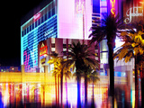 Urban Stretch Series, Fine Art, Strip, Casino, Las Vegas, Nevada, United States Photographic Print by Philippe Hugonnard