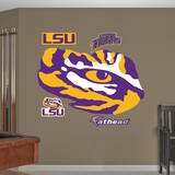 LSU Tigers Eye of the Tiger Logo Wall Decal Wall Decal