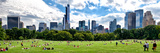 Panoramic Landscape, a Summer in Central Park, Lifestyle, Manhattan, New York City Photographic Print by Philippe Hugonnard