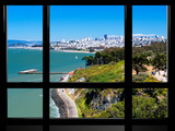 Window View, Special Series, Landscape, San Francisco, California, United States Photographic Print by Philippe Hugonnard
