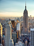 Lifestyle Instant, Skyline, Empire State Building, Manhattan, New York City, United States Photographic Print by Philippe Hugonnard