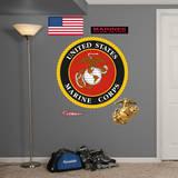 USMC Insignia Wall Decal Kalkomania ścienna