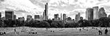 Panoramic Landscape, a Summer in Central Park, Lifestyle, Manhattan, NYC Fotografie-Druck von Philippe Hugonnard