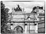 Arc De Triomphe du Carrousel, the Louvre Museum, Paris, France Photographic Print by Philippe Hugonnard