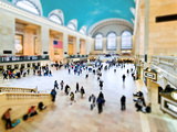 Tilt Shift Series, Art Modern, Grand Central Terminal, New York, United States Photographic Print by Philippe Hugonnard