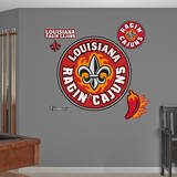 Lousiana Lafayette Ragin Cajuns Logo Wall Decal Muursticker