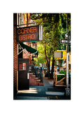 Urban Scene, Corner Bistro, Meatpacking and West Village, Manhattan, New York Photographic Print by Philippe Hugonnard