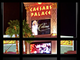 Window View, Special Series, Celine Dion, Caesars Palace, Las Vegas, Nevada, United States Photographic Print by Philippe Hugonnard