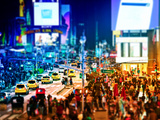 Tilt Shift Series, Times Square, Manhattan, New York City, United States Photographic Print by Philippe Hugonnard