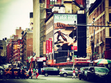 Urban Scene, Chinatown, Manhattan, New York, United States Photographic Print by Philippe Hugonnard