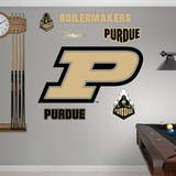 Purdue Boilermakers P Logo Wall Decal Wallstickers