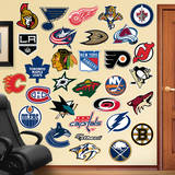 NHL Logo Collection Wall Decal Kalkomania ścienna