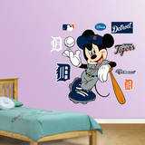 Mickey Mouse - Detroit Tigers Wall Decal Wall Decal