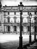 Lamps, the Louvre Museum, Paris, France Photographic Print by Philippe Hugonnard