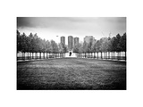Franklin D. Roosevelt (Fdr) Four Freedoms Park, Roosevelt Island, Manhattan, New York, White Frame Photographic Print by Philippe Hugonnard