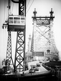 Roosevelt Island Tram and Ed Koch Queensboro Bridge (Queensbridge), Manhattan, New York City Photographic Print by Philippe Hugonnard