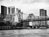Ed Koch Queensboro Bridge, Sutton Place and Buildings, East River, Manhattan, New York Photographic Print by Philippe Hugonnard