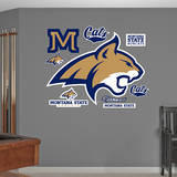 Montana State Bobcats Logo Wall Decal Wall Decal