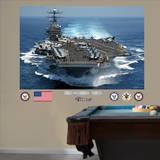 USS Carl Vinson CVN - 70 Mural Wall Decal Adhésif mural