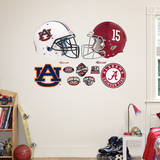 Auburn - Alabama Rivalry Pack Wall Decal Wallstickers