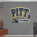 Pittsburgh Panthers PITT Logo Wall Decal Wallstickers