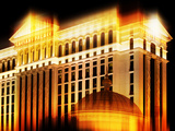 Urban Stretch Series, Fine Art, Caesars Palace, Casino, Las Vegas, Nevada, United States Photographic Print by Philippe Hugonnard