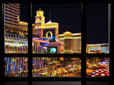Window View, Special Series, Strip, Las Vegas, Nevada, United States Photographic Print by Philippe Hugonnard