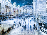 Urban Vibrations Series, Fine Art, Grand Central Terminal, Manhattan, New York City, United States Photographic Print by Philippe Hugonnard