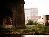 Silvercup Studios, Roosevelt Island for the Ed Koch Queensboro Bridge, Long Island City, New York Photographic Print by Philippe Hugonnard