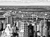 Landscape View, East Harlem District and Robert F.Kennedy Bridge (Toll Road), Manhattan, NYC Photographic Print by Philippe Hugonnard