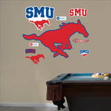 SMU Mustangs Logo Wall Decal Wall Decal