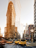 Urban Vibrations Series, Fine Art, Flatiron Building, Manhattan, New York City, United States Photographic Print by Philippe Hugonnard