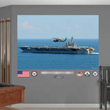 USS George H.W. Bush CVN - 77 Mural Wall Decal Wall Decal