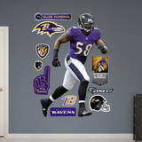 NFL Baltimore Ravens Elvis Dumervil Wall Decal Wall Decal