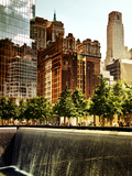 Architecture and Buildings, 9/11 Memorial, 1Wtc, Manhattan, New York City, United States, USA Fotografisk tryk af Philippe Hugonnard