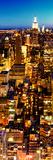 Night, Series 02, Midtown Manhattan, Manhattan, New York City Photographic Print by Philippe Hugonnard