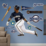 MLB Milwaukee Brewers Jean Segura Wall Decal Wall Decal